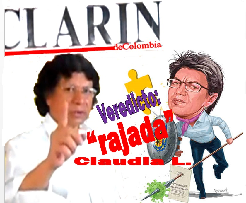 Me ruborizas, Claudia López